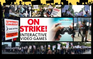 Voice Actors Union Strike Game.