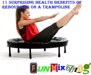 11 Surprising Health Benefits of Rebounding on a Trampoline