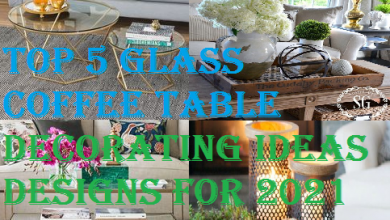 Top 5 Glass Coffee Table Decorating Ideas