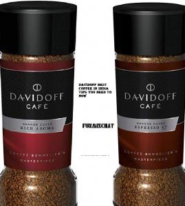 Davidoff Best Coffee In India