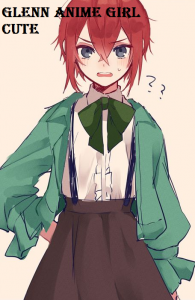 Glenn Anime Girl Cute